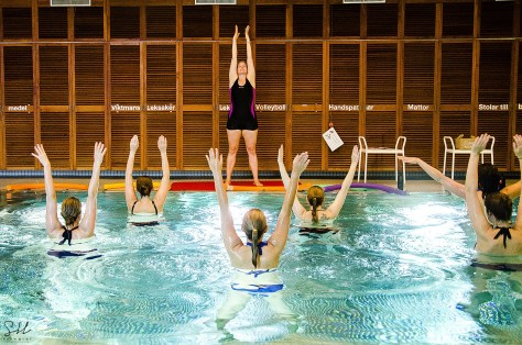 Gravidträning Vattengymnastik Magplasket Halmstad