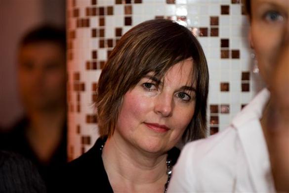 Barbara-Jo at Opus Bar, 2008 - photo Hamid Attie