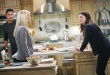 Don Diamont, Katherine Kelly Lang, Heather Tom, The Bold and the Beautiful