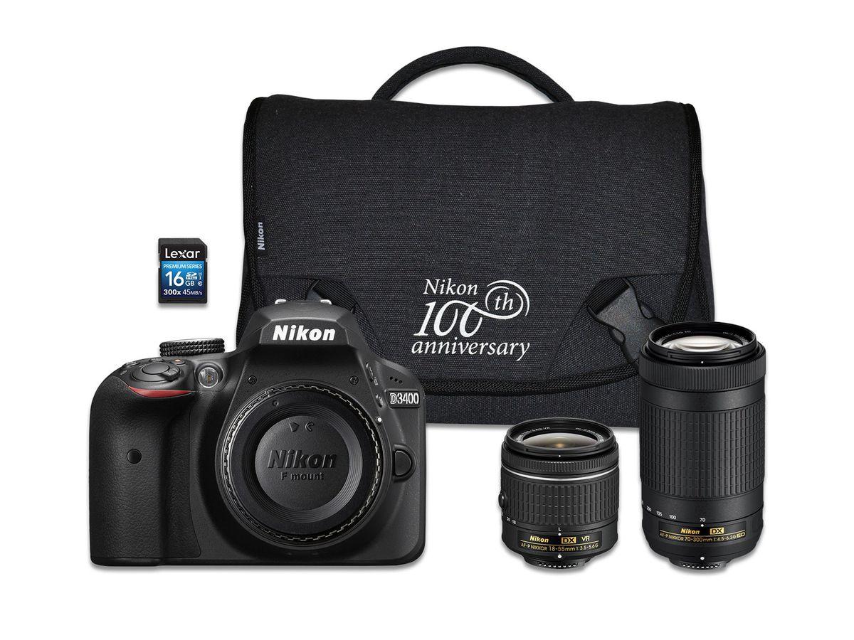 Fullsize Of Nikon D3400 Lenses