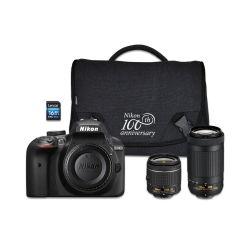 Small Crop Of Nikon D3400 Lenses