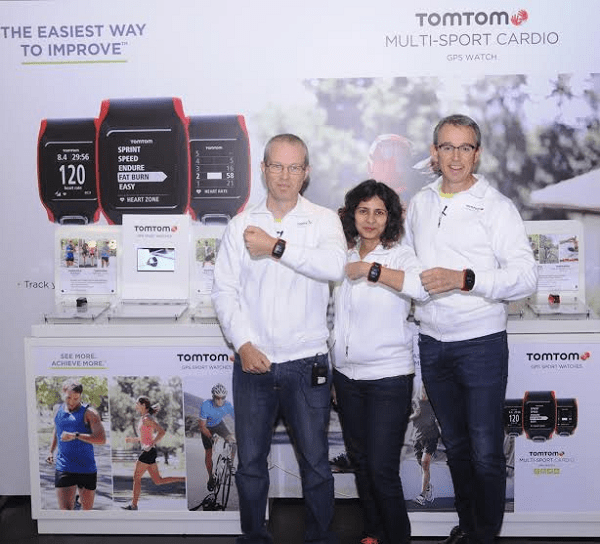 TomTom GPS Watches Launch