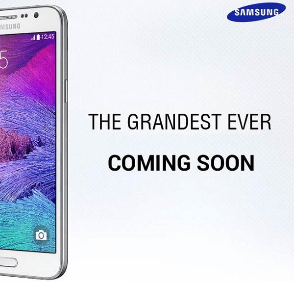 Samsung Galaxy Grand 3 Teaser