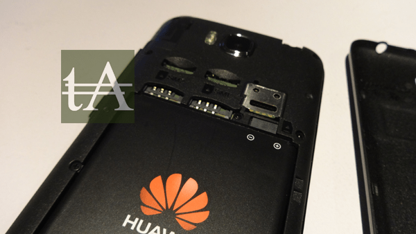 Huawei Honor Bee Battery SIM Slots