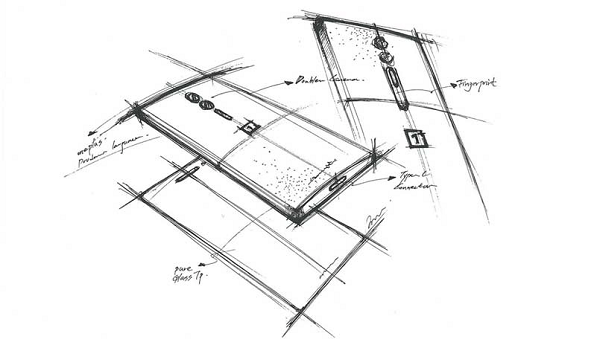 OnePlus 2 Dual Camera Sketch