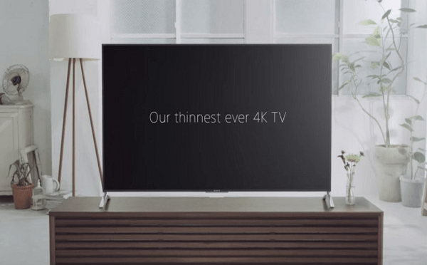 Sony Slimmest TV