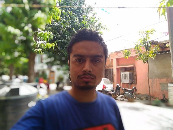 Asus ZenFone Selfie Camera Sample Depth Of Effect
