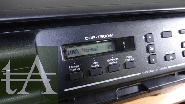 Brother- DCP T500W Penal