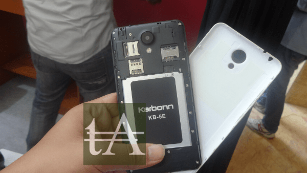 Karbonn Titanium Mach Five Battery