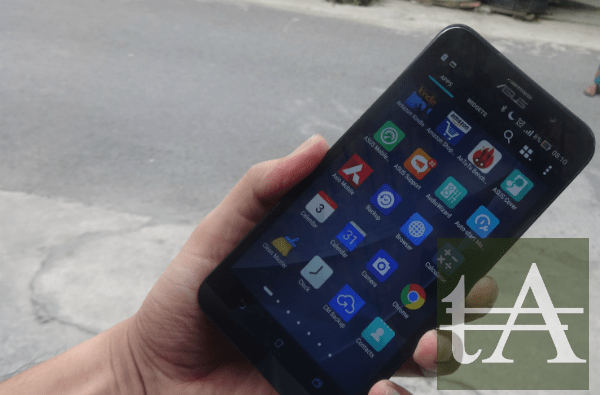 Asus ZenFone 2 Deluxe UI