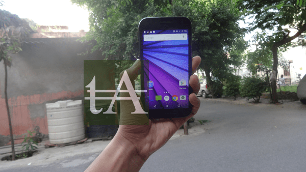 Motorola Moto G3 2015 Front Up