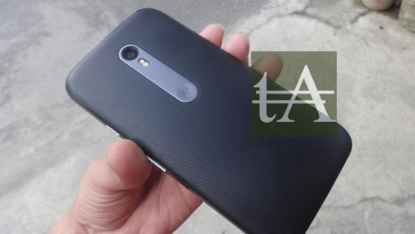 Motorola Moto G3 2015 Rear