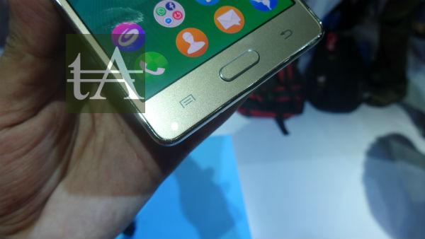 Samsung Z3 Buttons