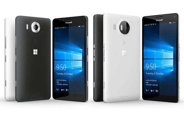 Microsoft Lumia 950 and Lumia 950XL