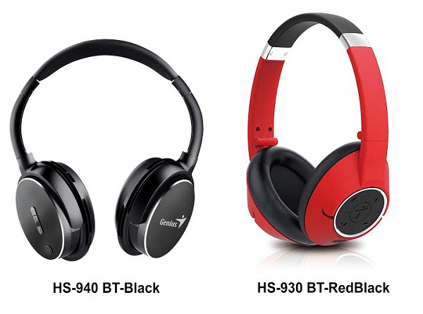 Genius Bluetooth Headsets HS 940BT HS 930BT