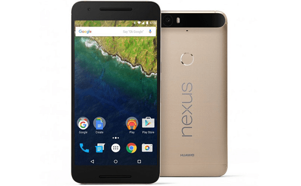 Huawei Nexus 6P Gold Edition