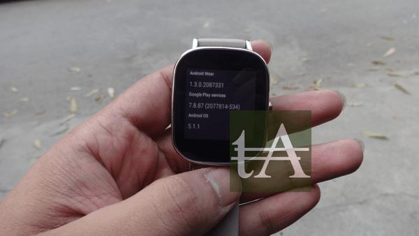 Asus ZenWatch 2 version