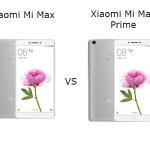 Xiaomi Mi Max vs Xiaomi Mi Max Prime