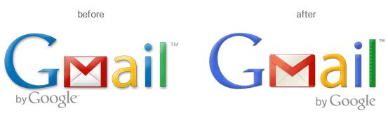 Gmail Changed Logo