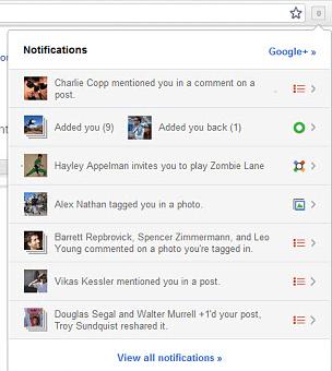 Google Plus Official Extension