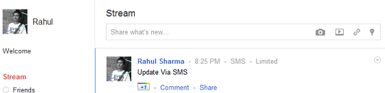 Google_Plus_Update_Via_SMS
