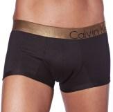 Lot de 2 Boxers Bold Holiday Cotton Noirs à Ceinture Brillante Calvin Klein Underwear