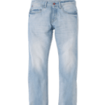 jean revers rouge