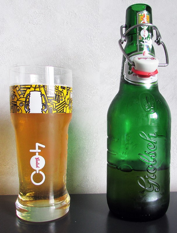 biere grolsch et son verre 400 ans