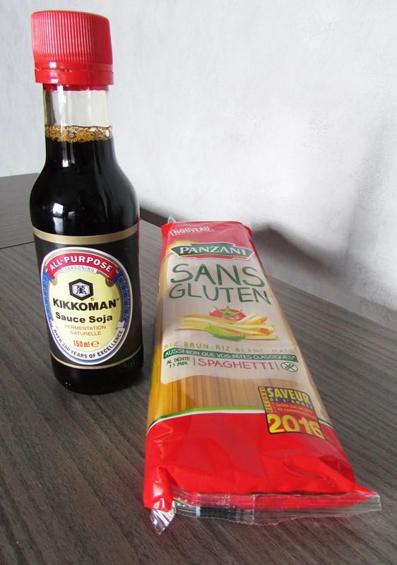 degustabox kikkoman et pate sans gluten