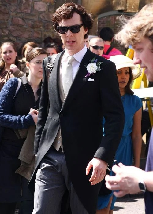Benedict waving at Goldney-ers