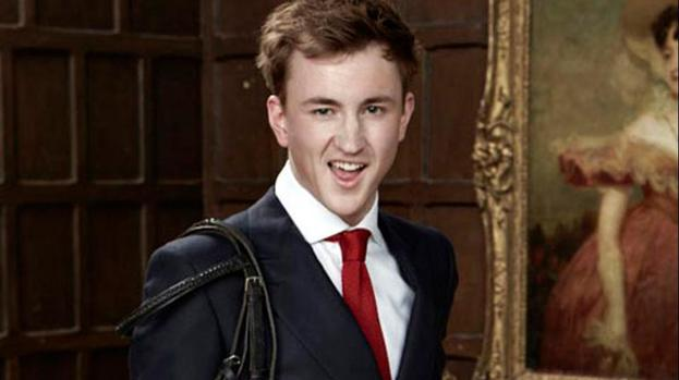 Let's hope Boulle is as interesting in real life as he is on TV