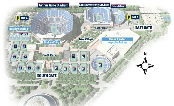 Us Open Map Flushing Meadows - Us open map flushing meadows