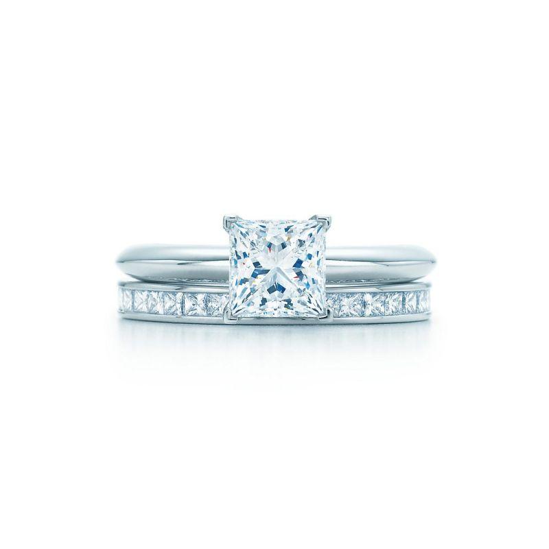 Large Of Princess Cut Engagement Rings