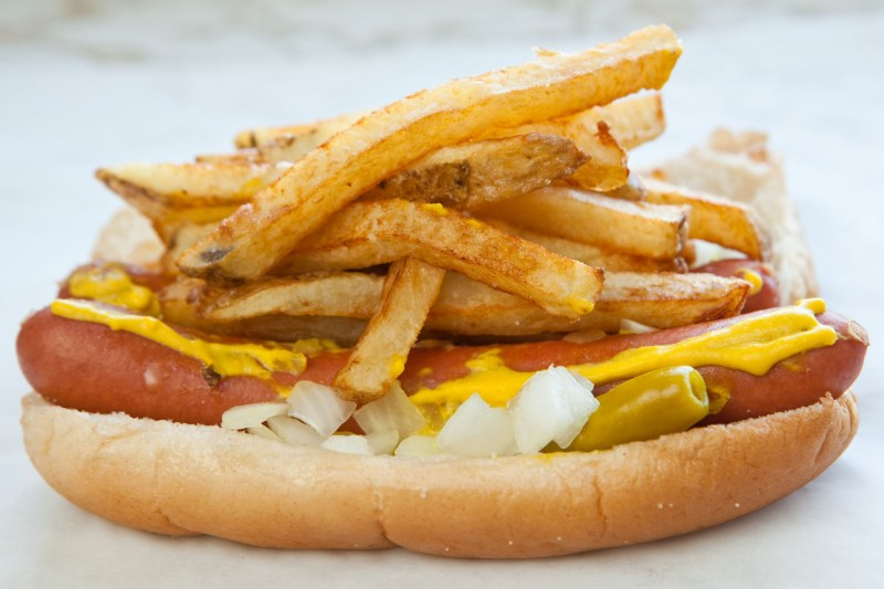 Large Of Chicago Hot Dog Recipe