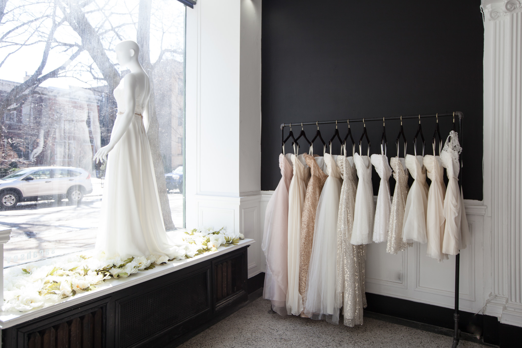 bridal shops in chicago for the perfect wedding dress wedding dresses stores Sarah Seven Bridal Salon