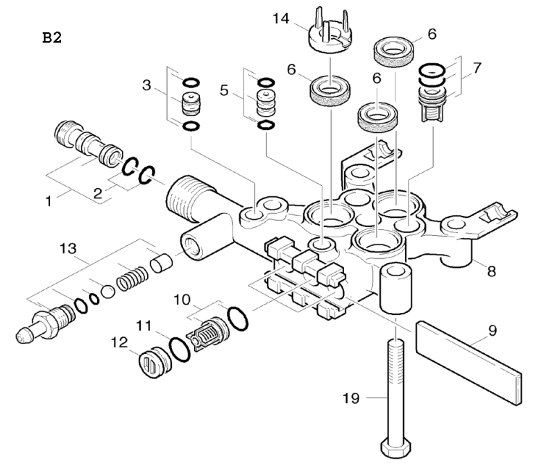 karcher spare parts diagrams