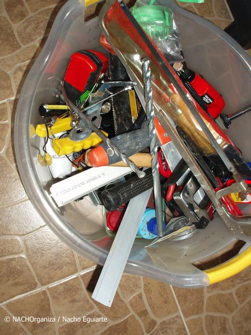 Organizando la caja de herramienta organizaci n de - Caja herramientas vacia ...