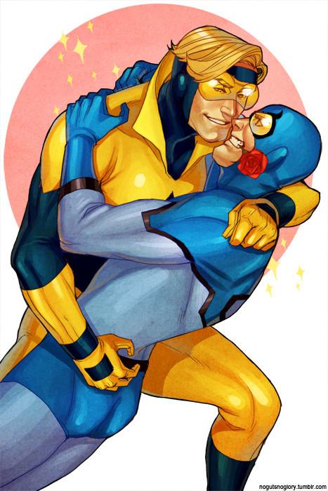 gay superhero cartoon