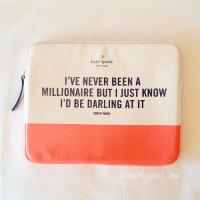 Kate Spade Millionaire iPad Sleeve