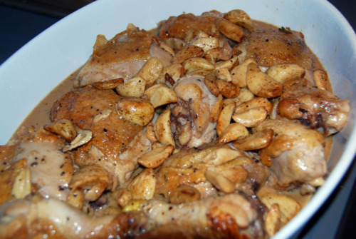 Paleo Chicken with 40 Cloves of Garlic