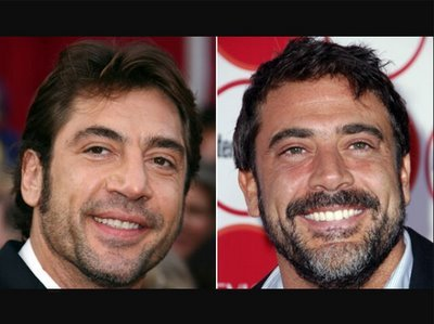 Who s Javier Bardem  Who s Jeffrey Dean Morgan  Are they in fact one     Reply