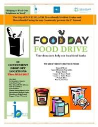 Food Day, Healthy Food Drive 2011