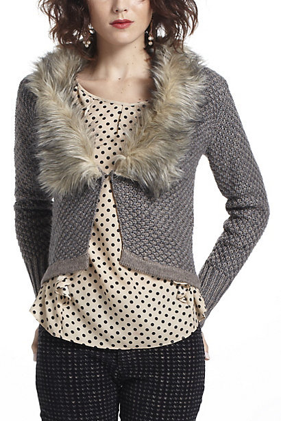 downy-collar-cardigan