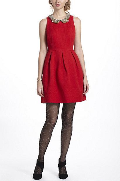 nipped-brocade-dress