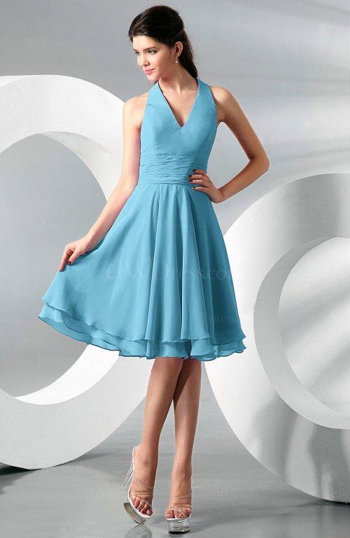 Medium Of Light Blue Bridesmaid Dresses