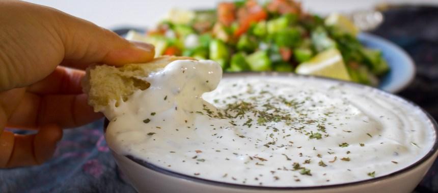 Afghansk yoghurtdipp
