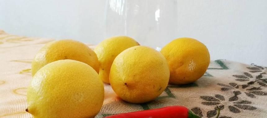 Inlagda Marockanska citroner
