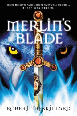 Zondervan's Book Cover for Merlin's Blade