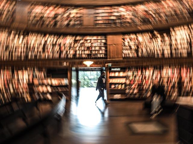 biblioteket......foto: BelleBlue © Photo