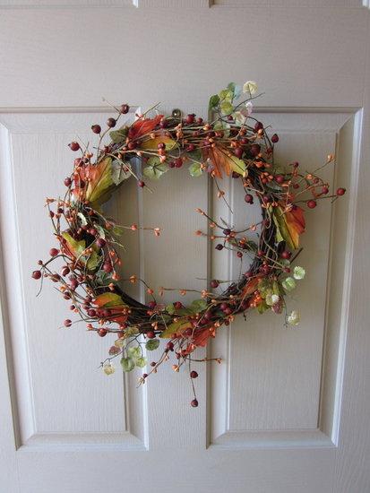 Bye bye fall wreath